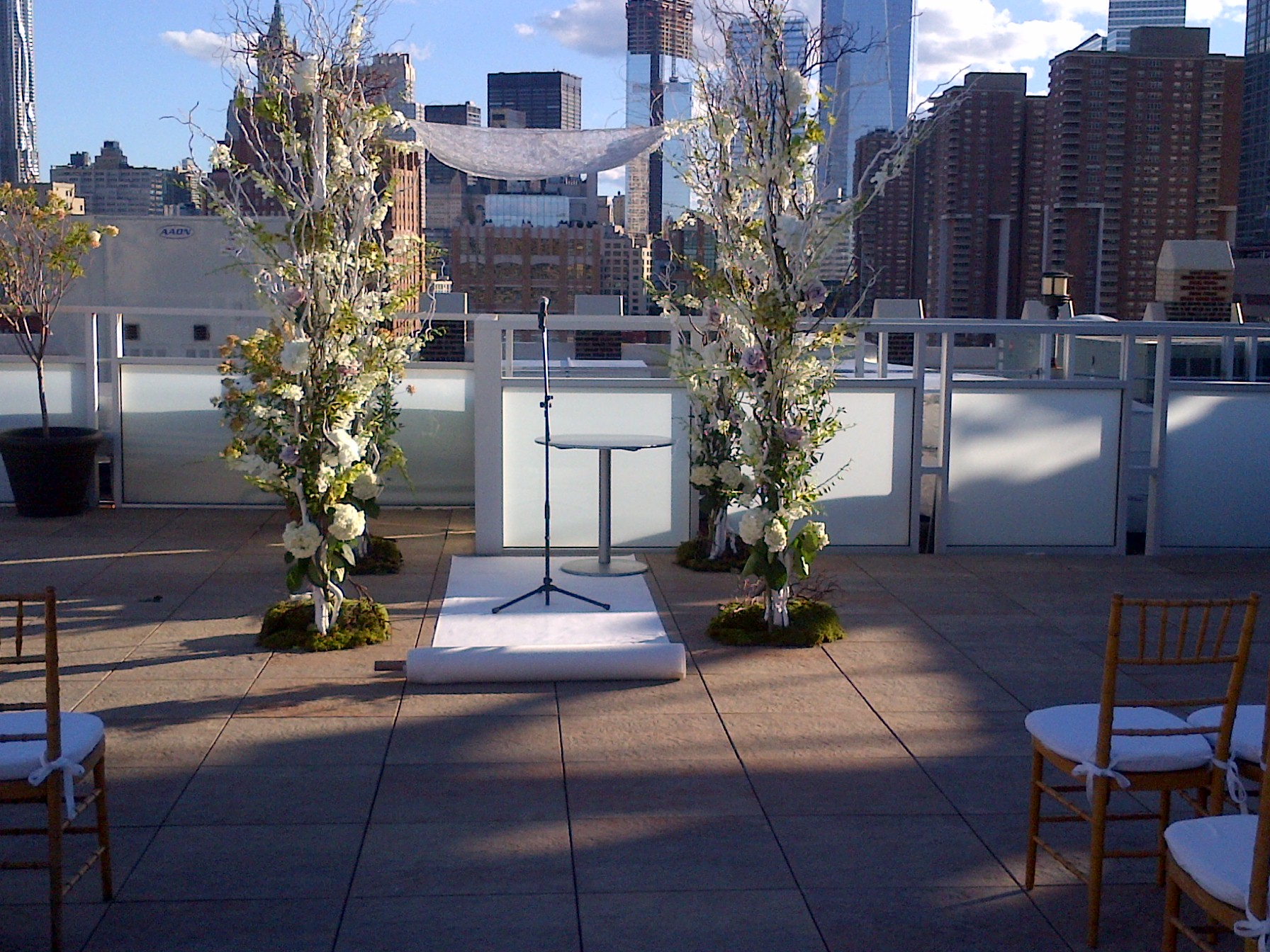 guitar and cello wedding ceremony music on tribeca rooftop penguin 9 23 tribeca rooftop2