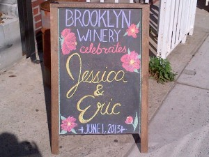Brooklyn Winery Sign